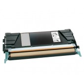 Cartucho Toner Reemplaza al Original Lexmark C524BK (C5222KS)  /// Color: Black